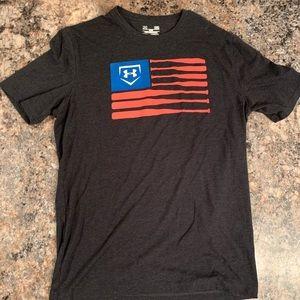 Under Armour Men's Baseball USA Tee Shirt